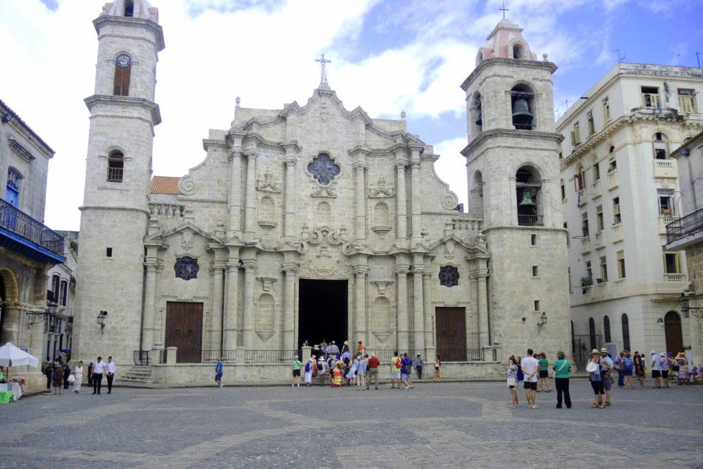 Kuba Sehenswürdigkeiten Havana Kathedrale von Havanna