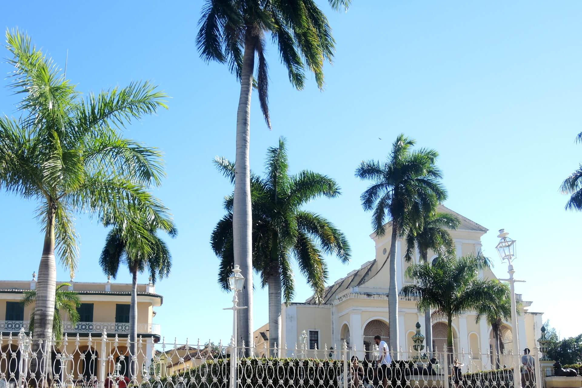 Kuba Sehenswürdigkeiten - Plaza Mayor Trinidad