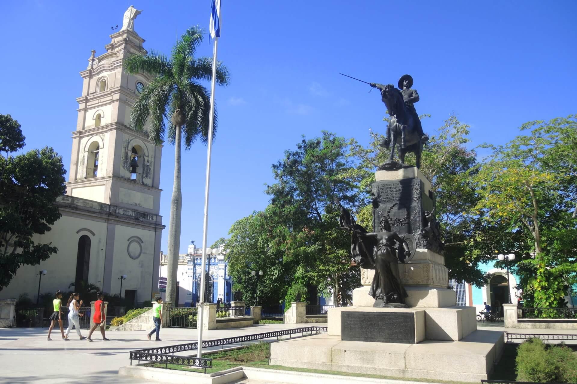 Sehenswürdigkeiten in Kuba - Camaguey Parque Ignacio Agramonte