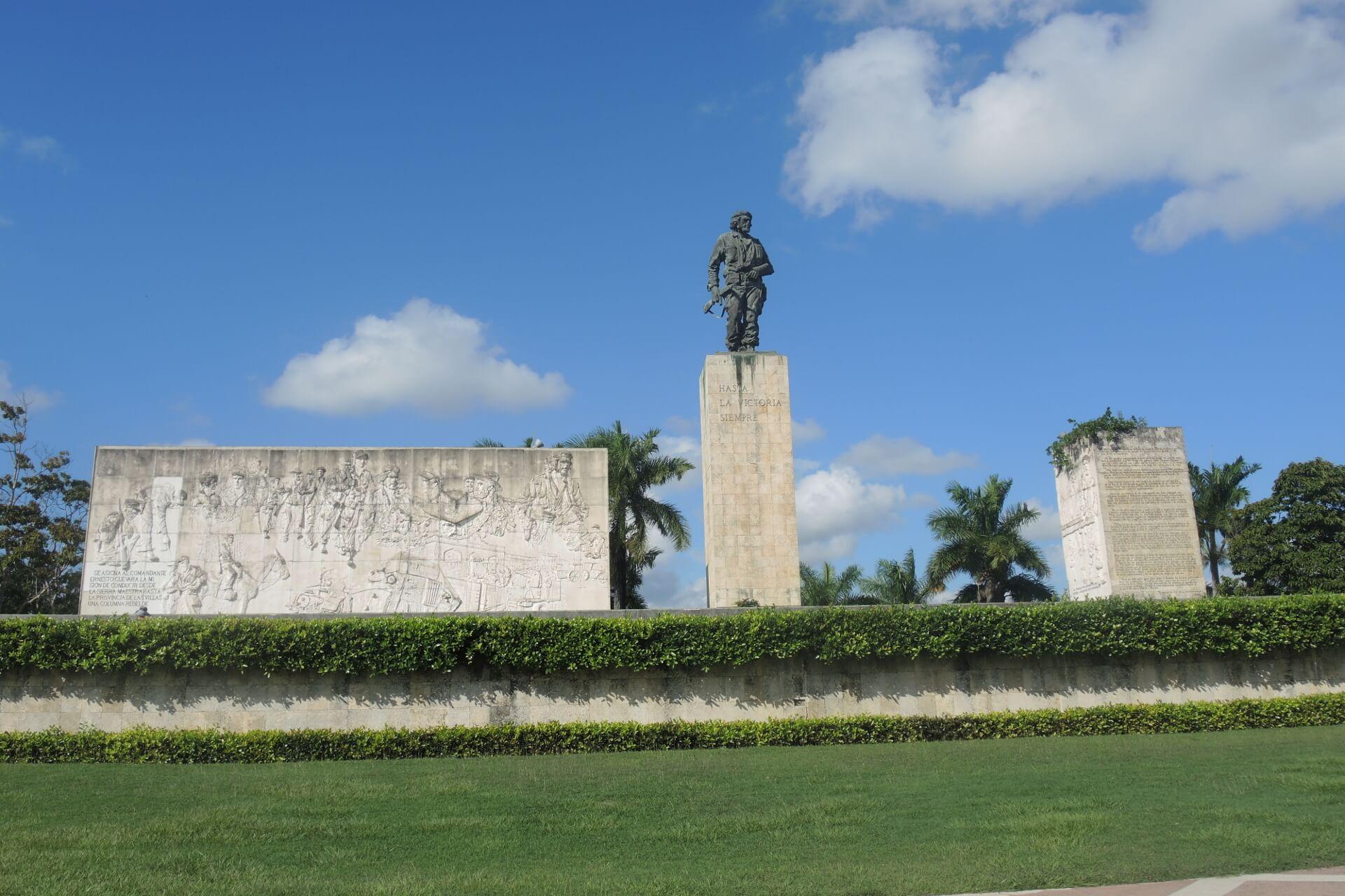Sehenswürdigkeiten in Kuba Che Guevara Denkmal Santa Clara
