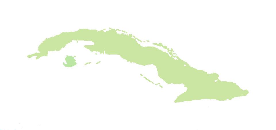 Kuba Rundreise Karte Stationen